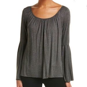 BAILEY 44 bell sleeve soft top M